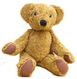Ekologisk nallebjörn, leksak från Ekokul