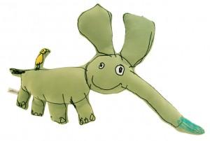 Eflant ekologiskt kramdjur