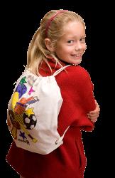 gympapåse eller ryggsäck